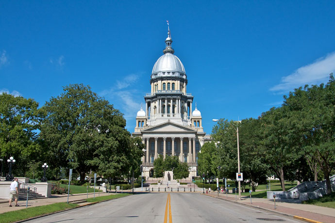 Springfield, IL State Capitol