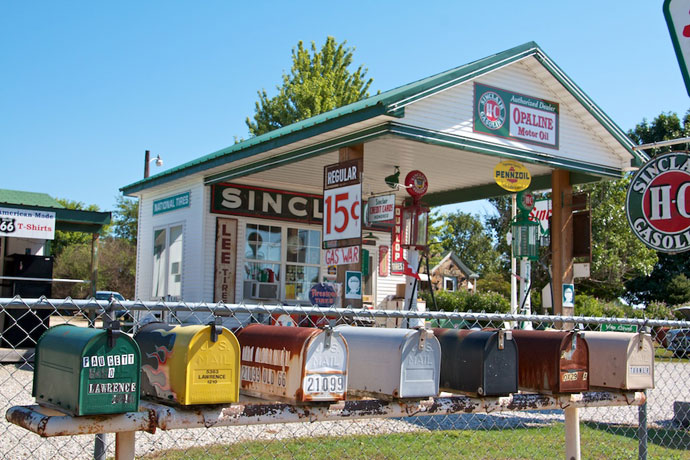 Garys Sinclair Gas Station