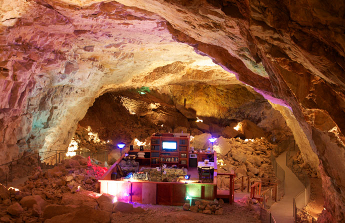You Can See More About The Grand Canyon Caverns And Contact Details For Booking Of Suite At His Web Site