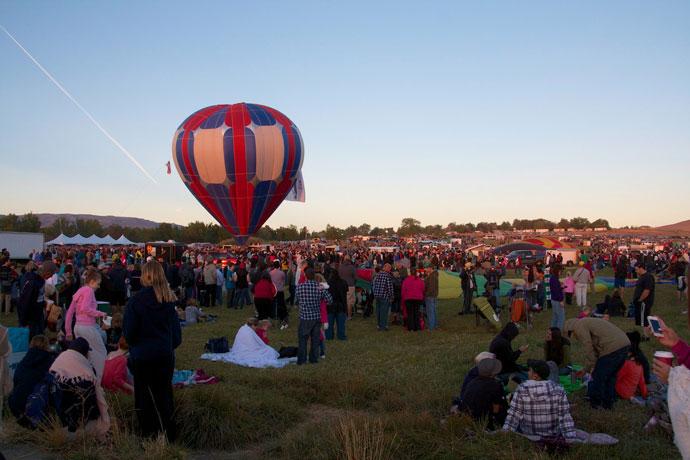 The Great Reno Balloon Race 2012 - Roadtrips i USA & Canada