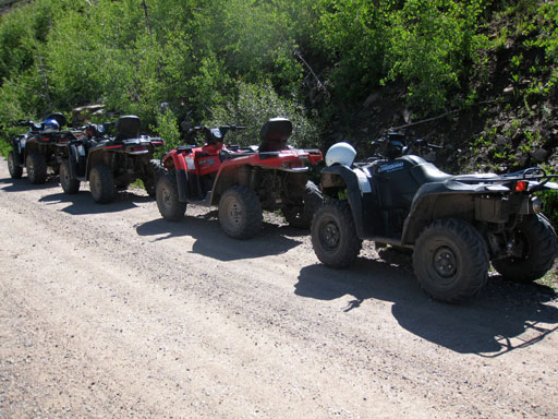 ATV tour i bjergene, Roadtrip USA 2008