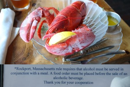 Rockport, MA er underlig med alkohol, Roadtrip 2009