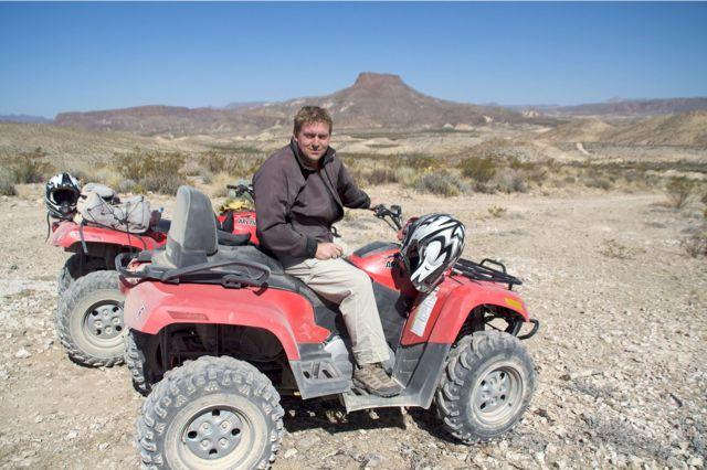 ATV tour og Cowboy Action Shooting i Lajitas, TX