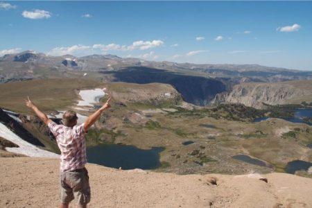 Yellowstone og sneboldkamp i 3 km højde, Roadtrip i USA