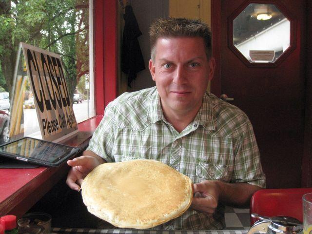 Man-cakes og gourmet burgers, Roadtrip i USA