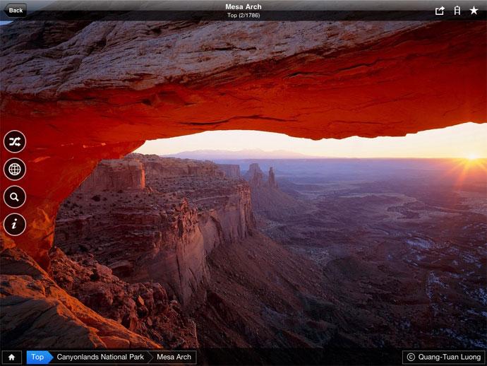 3000 billeder af USAs Nationalparker