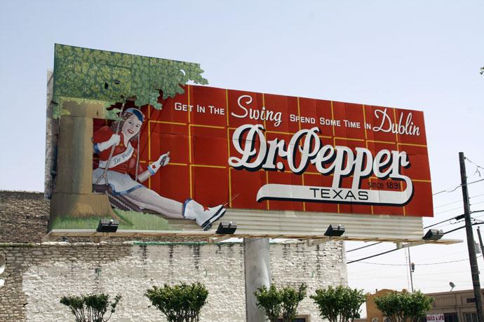 En dag med Dr Pepper