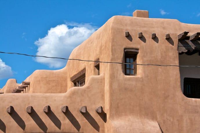 Adobe House i Santa Fe