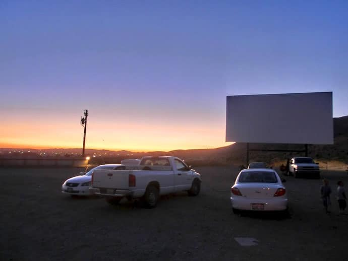 Drive-In Theater on Route 66