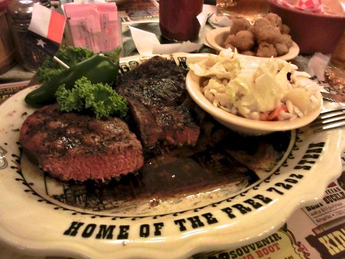2 kg steak på The Big Texan på Route 66