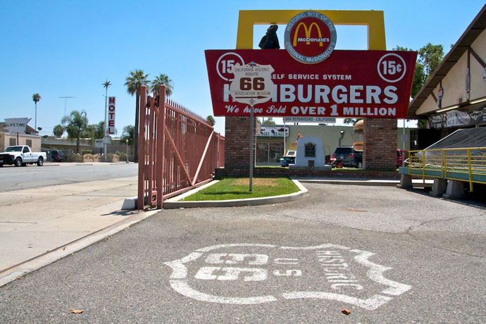 McDonald's museum på Route 66