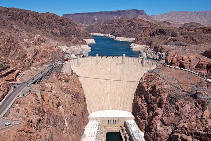 Hoover Dam og Hoover Dam Bypass