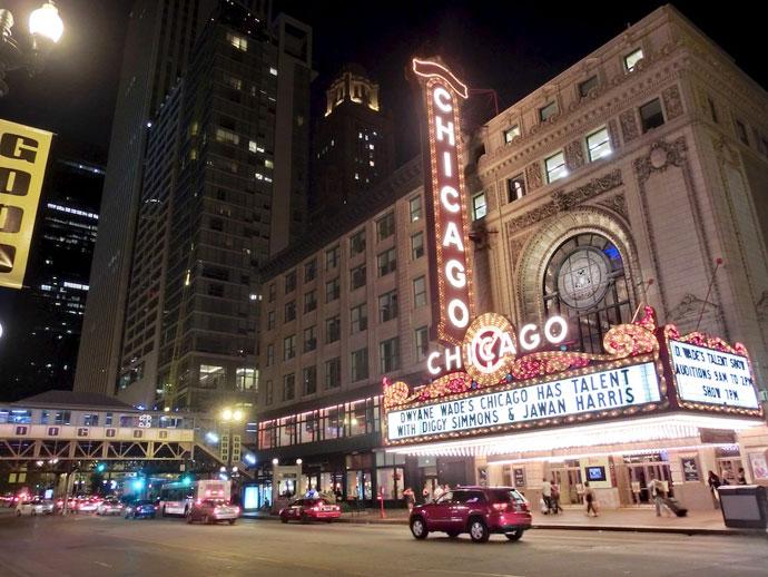 Skyskrabere og monster Weber grill i Chicago
