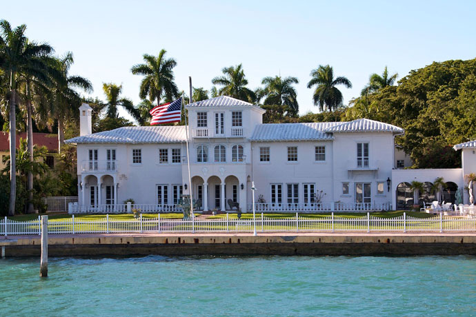 Bayside marketplace og sejltur i Miami