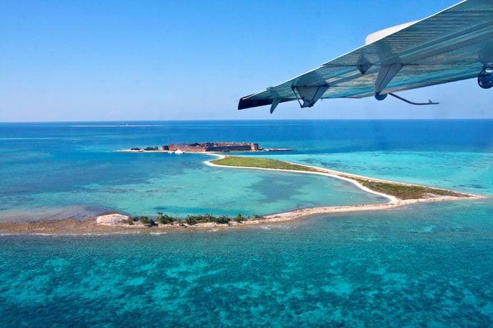 Dry Tortugas oplevet med vandflyver og snorkel