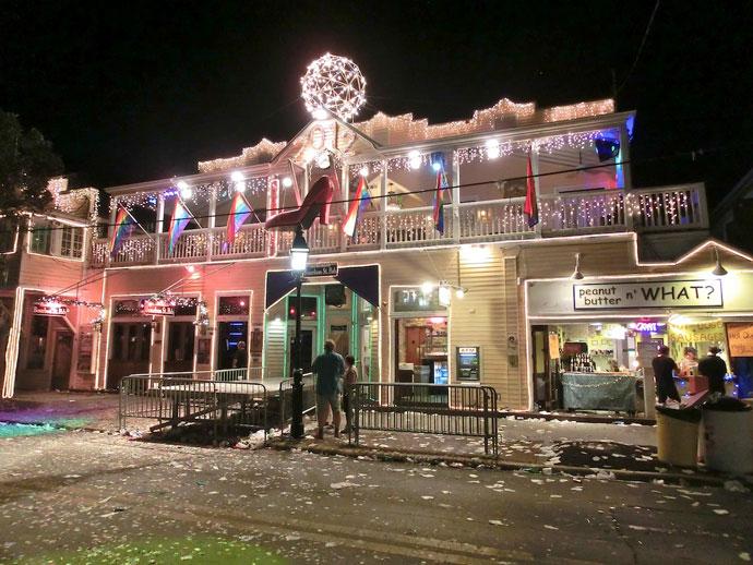 Nytårsaften i Key West på Duval Street