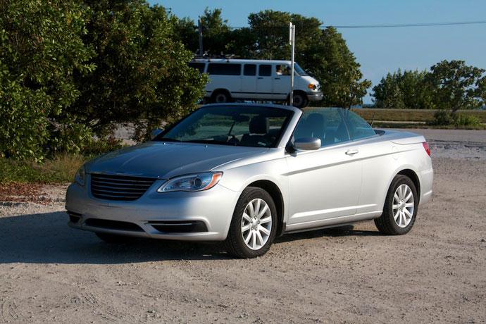 Chrysler 200 Cabriolet – bagageplads