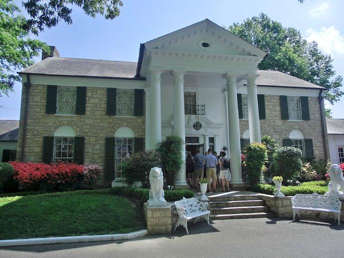 Elvis Presley og Graceland i Memphis