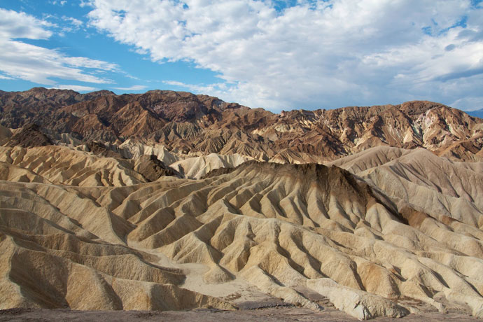 20 mule team canyon og Zabriskie point