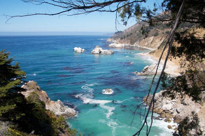 Highway 1, Monterey og McWay Falls