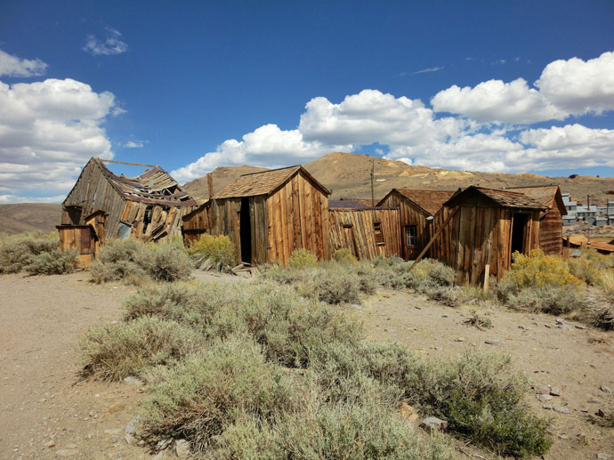 Bodie Ghost Town og Mono Lake
