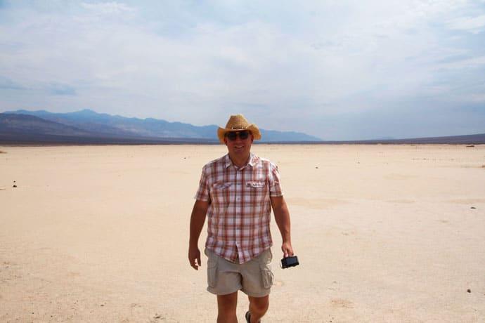Bilkørsel i Death Valley