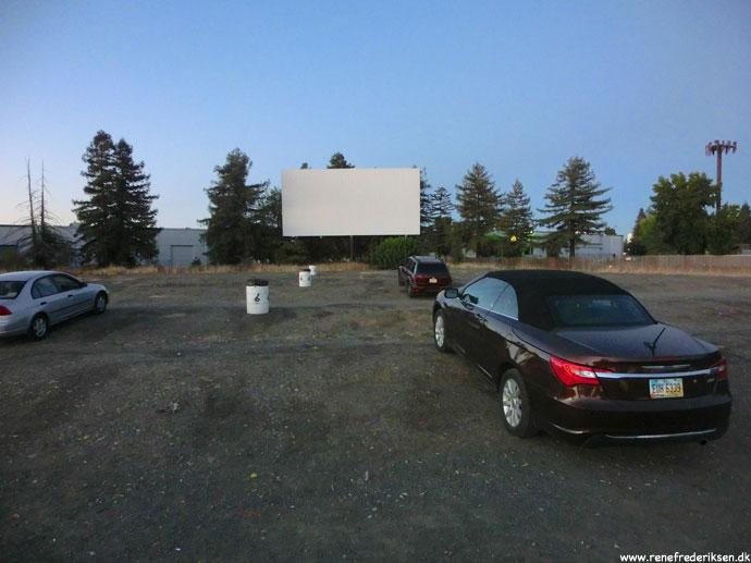 Drive-in biograf i Sacramento