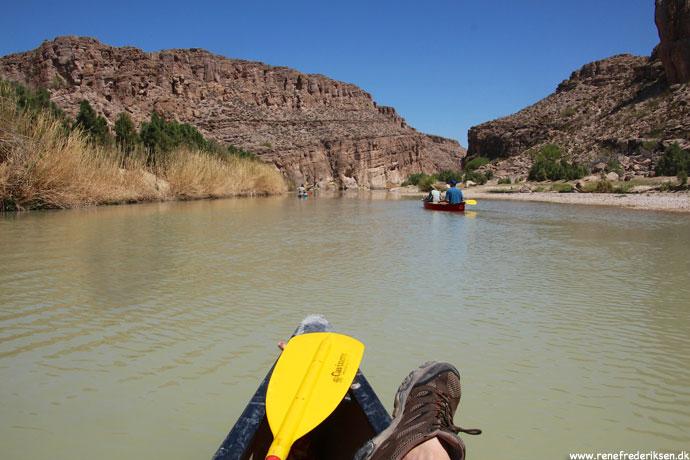 Kanotur på Rio Grande og varme kilder
