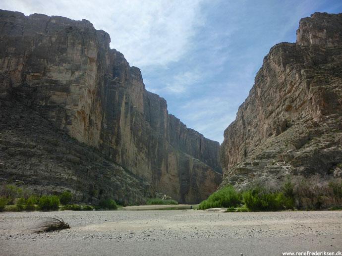 Santa Elena Canyon og taget af i Big Bend