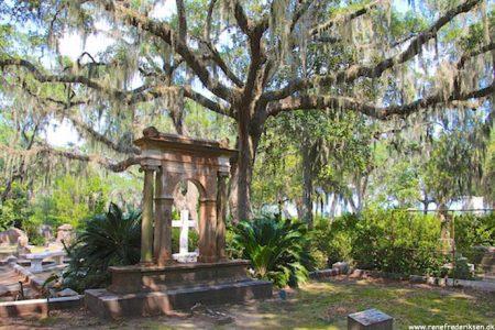 Bonaventura kirkegård i Savannah, GA