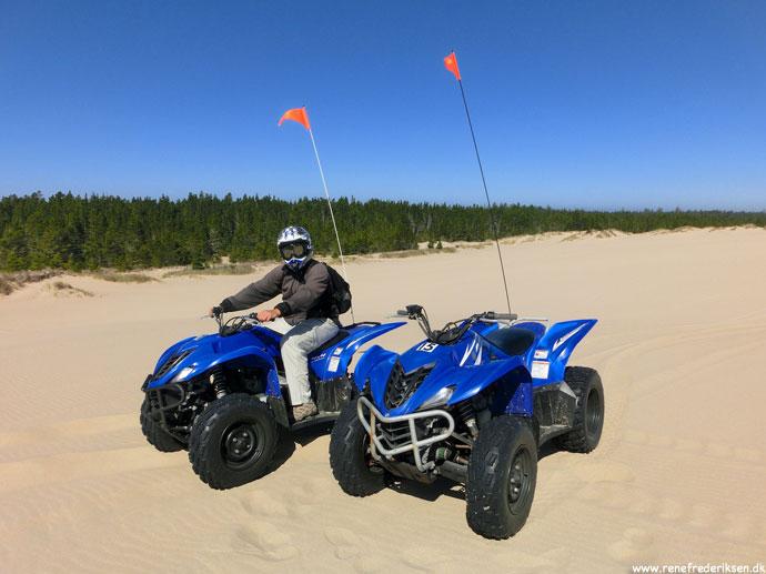 ATV tur i klitterne ved Highway 1, Oregon