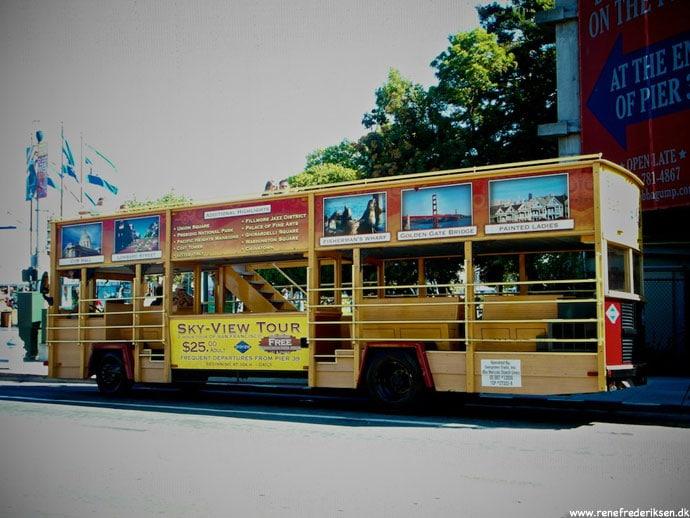 Bus Tour i San Francisco