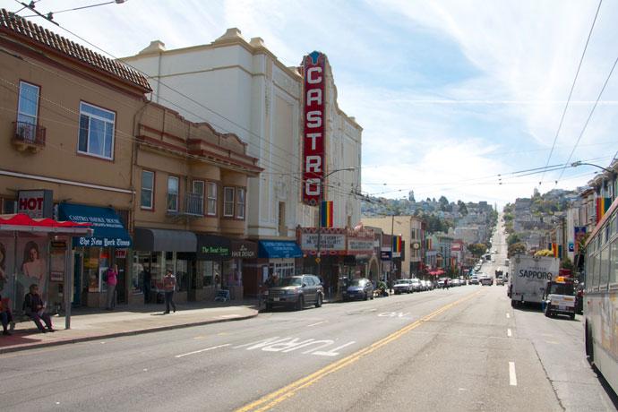 Castro området i San Francisco