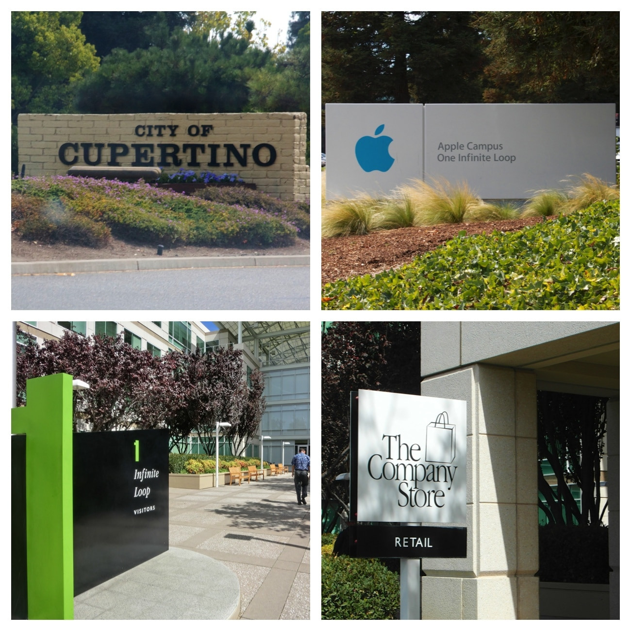 Apple HQ i Cupertino