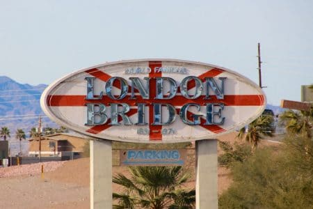 Lake Havasu og London Bridge