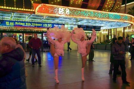 Rio Hotel og Fremont Street i Las Vegas