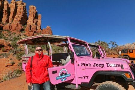 Sedona, Pink Jeep Tours og klapperslange