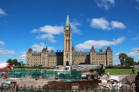 Rundtur i Ottawa på engelsk og fransk