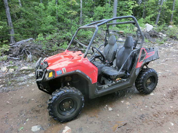 Mont-Tremblant i off-road dune buggy