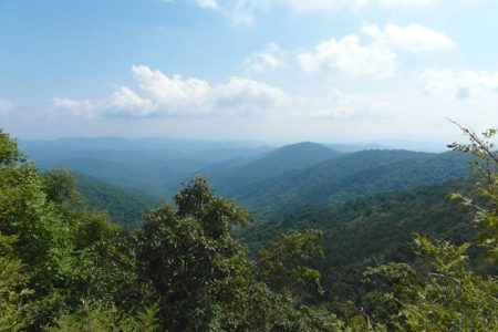 Blue Ridge Parkway – Asheville til Cherokee