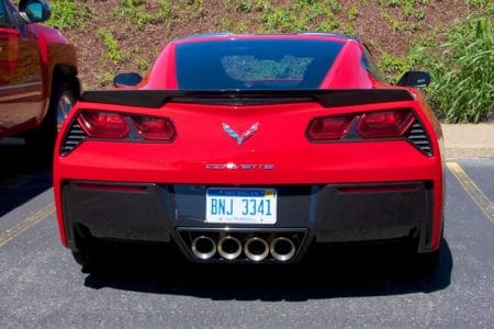 Corvette museum i Kentucky