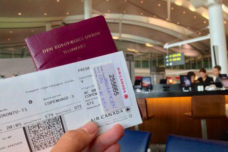 Kom ikke med overbooket fly fra Toronto