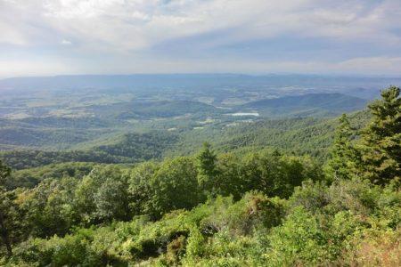 Shenandoah National Park og Skyline Drive