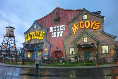 Dinner Show i Pigeon Forge, Tennessee