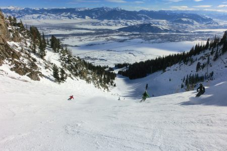 Skiløb ved Jackson Hole Mountain Resort