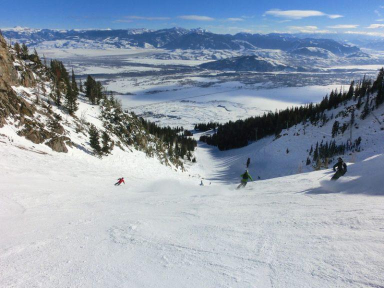 Skiløb ved Jackson Hole Mountain Resort