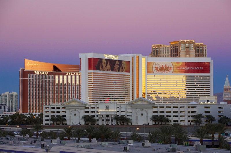 Las Vegas skyline from Rio self park roof