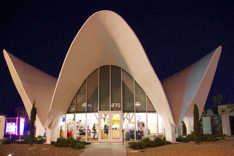 La Concha motel lobby building - The Neon Museum Las Vegas