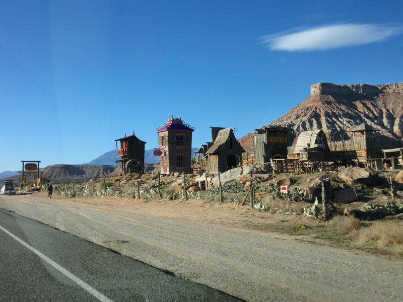 Some western town in Utah