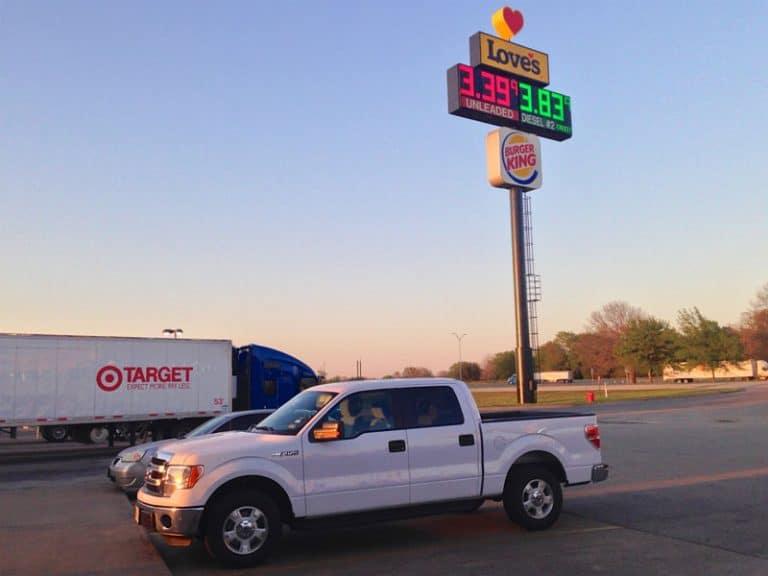 Pickup truck i Houston